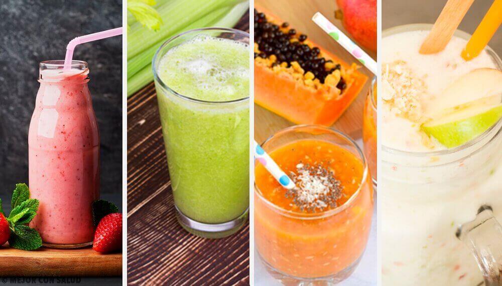 Bu Dört Sağlıklı ve Lezzetli Detoks Smoothiesini Deneyin