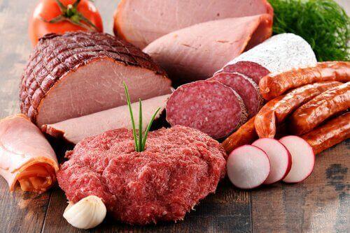 işlenmiş et ürünleri