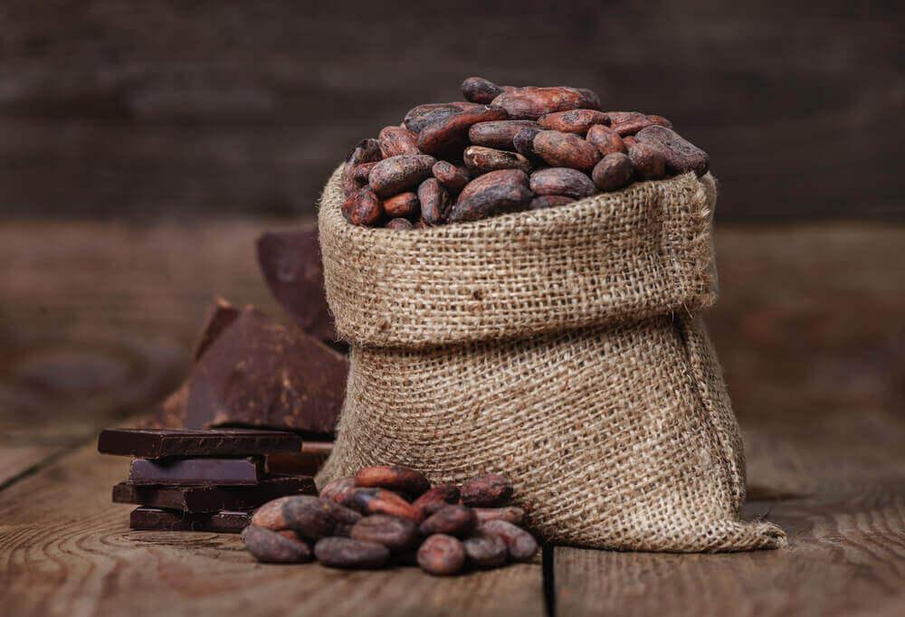bir çuval kakao