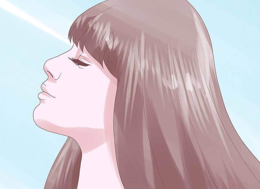 kadın kafasını dinliyor