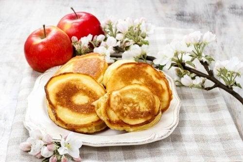 omlet elma çiçek