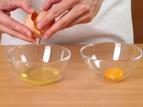 yumurta beyaz sarı ayırma