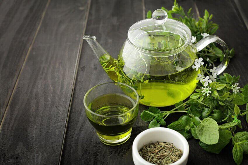yeşil çayın cilde faydası