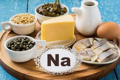 sodyum içeren gıdalar