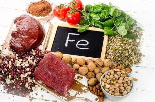 demir açısından zengin gıdalar