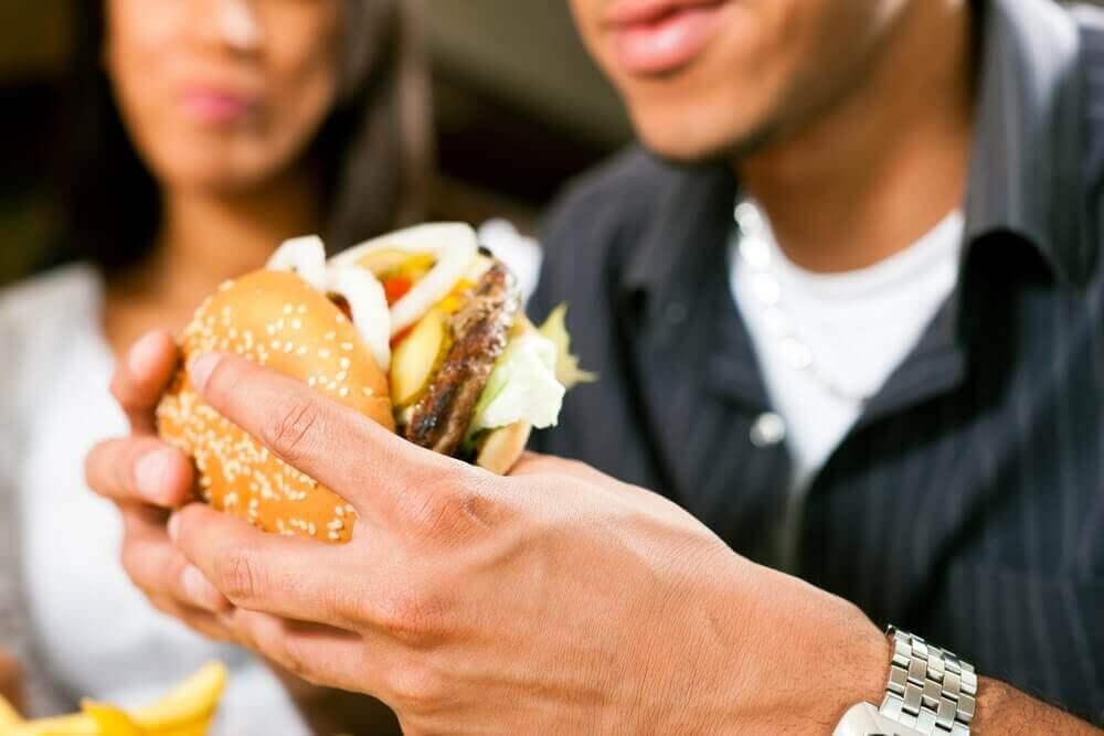 sağlıksız yemek