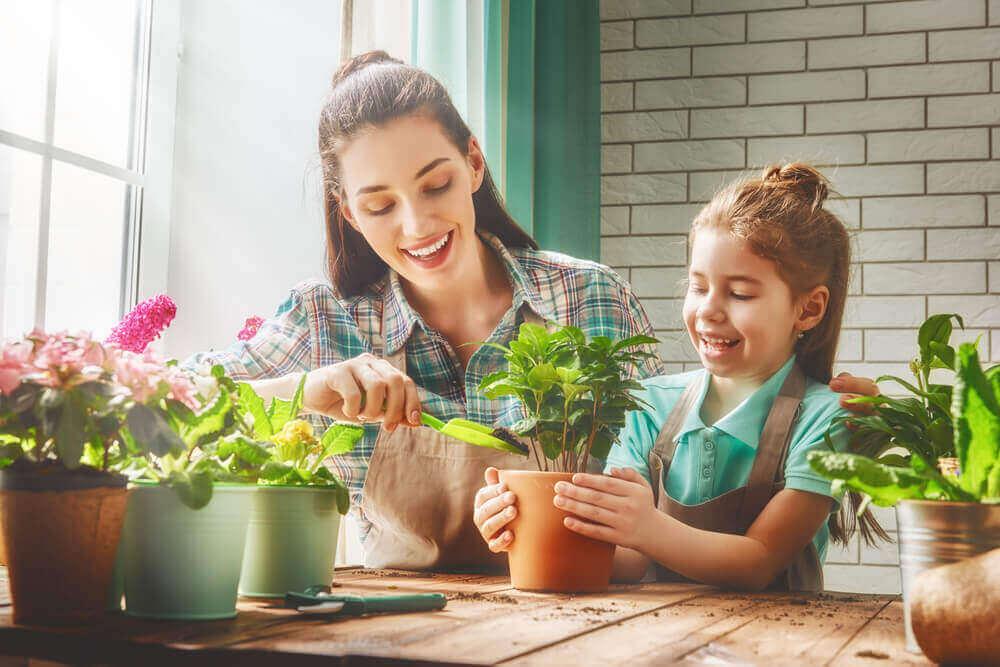 anne kız bitki ekmece