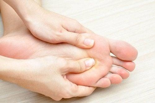 ayağa masaj