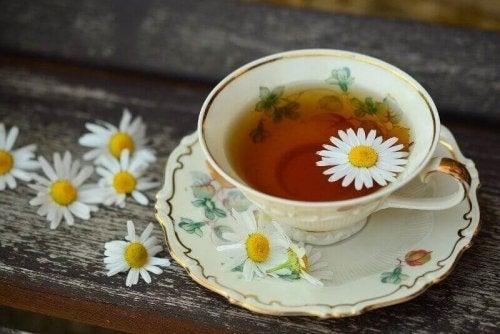 aybasi ağrısı için bitki çayı