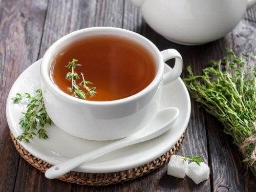 Dağ kekiği çayı