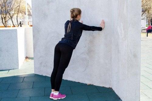 duvar şınav