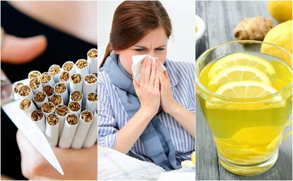 Soğuk Algınlığı ile Mücadele Etmek için 10 Adım