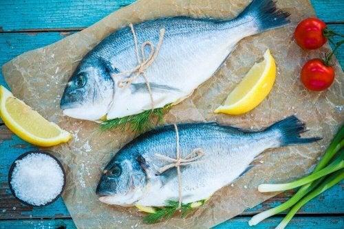 iki adet balık