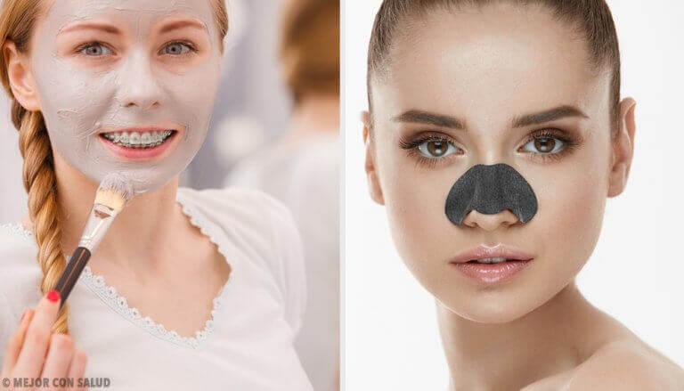 Siyah Noktaları Yok Etmek için Maskeler