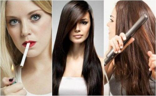 Saç Sağlığınızı Etkileyen 8 Kötü Alışkanlık