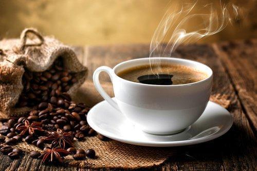 kahve ve çekirdekler
