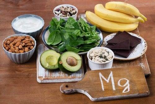 magnezyum içeren yiyecekler