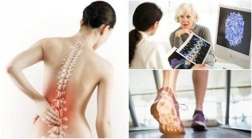 omurga kemiği yaşlı kadın doktor