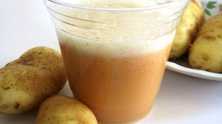 patates ve patates suyu