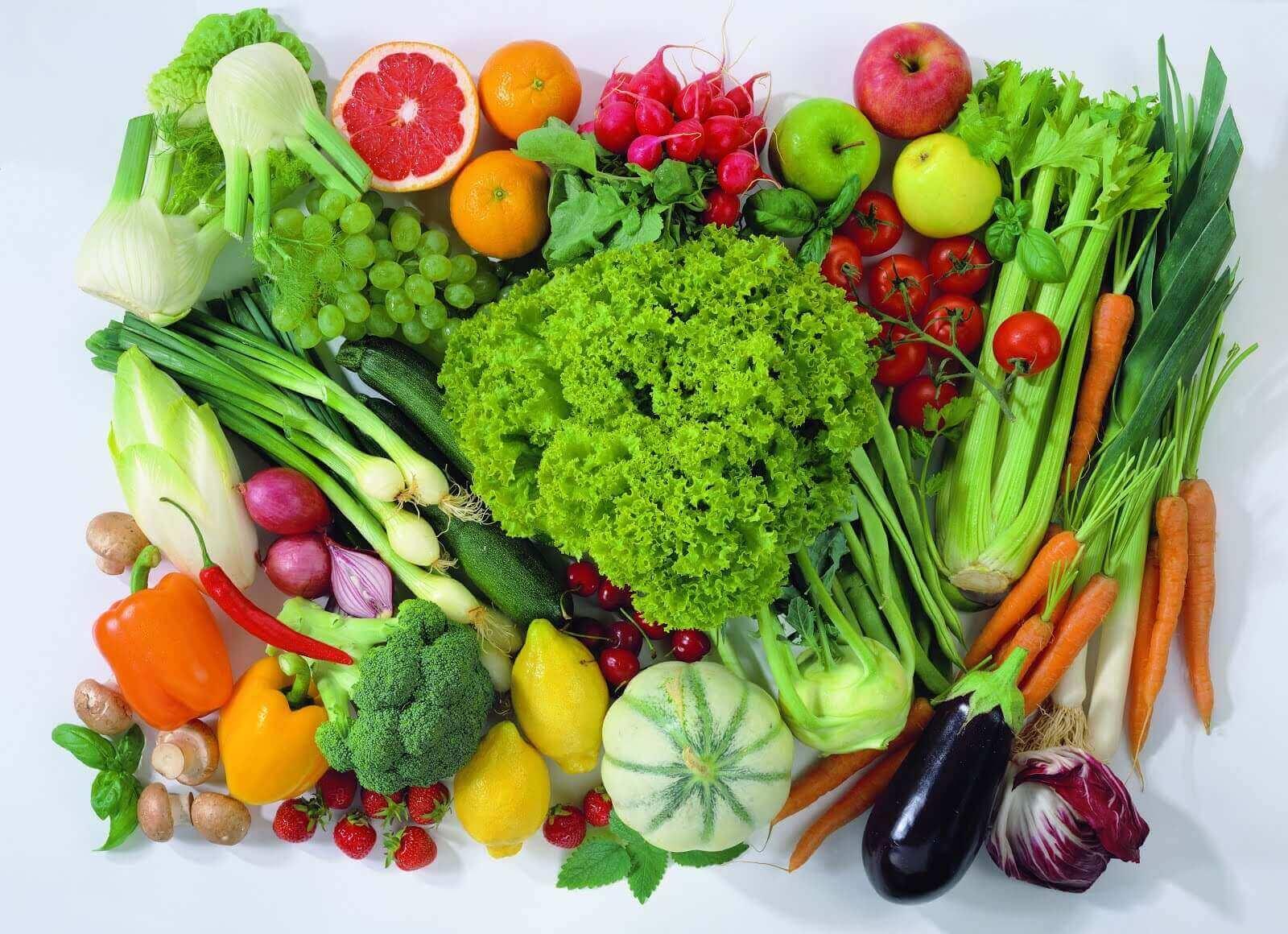 sağlıklı besinler demeti