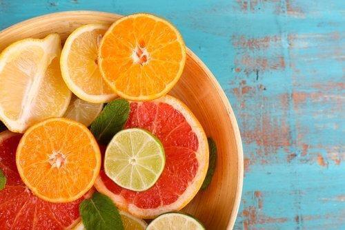 c vitamini kaynağı turunçgiller