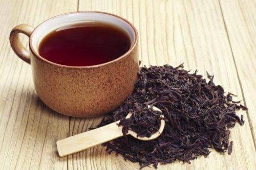 demlenmiş çay