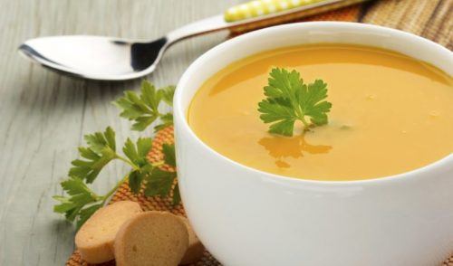 az yağlı et ve sebze çorbası