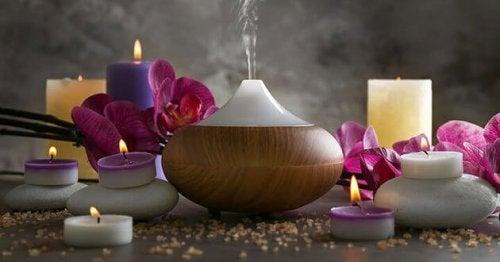 gerilim tipi baş ağrısına karşı aromaterapi