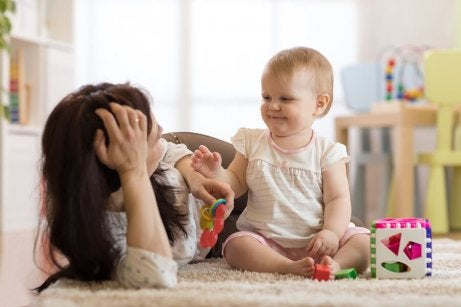 anne ve çocuk oyunu