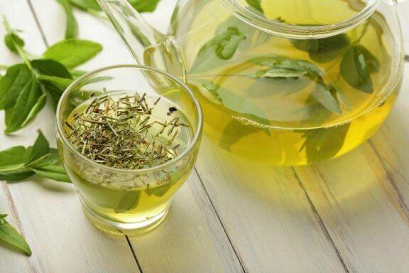 Kilo Vermek için Yeşil Çay Yapmanın Üç Yolu