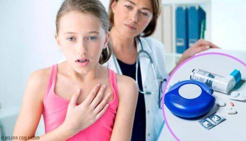 çocuk astım hastası