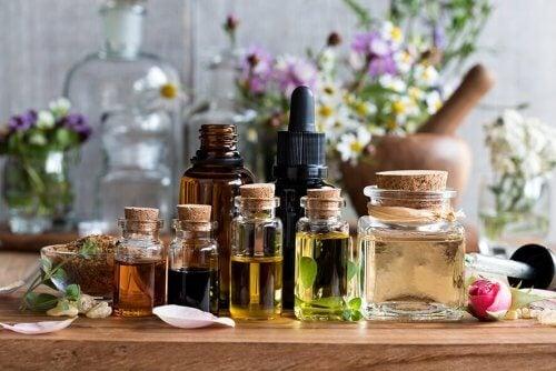 aromalı yağ şişeleri