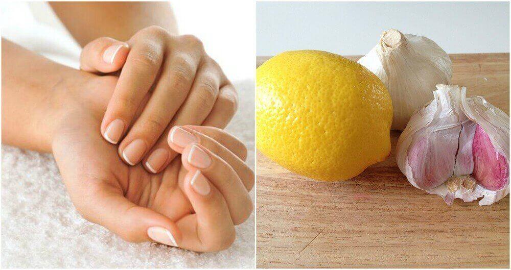 Tırnaklarınızı Güçlendirmek için Limon ve Sarımsak Nasıl Kullanılır