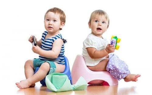 iki bebek iki lazımlık