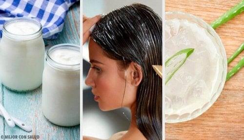 Saç Problemleri için 7 Doğal Tedavi