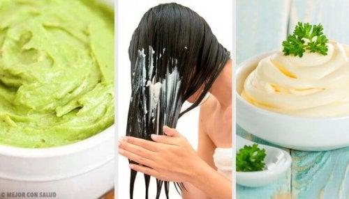 saç maske bitkisel