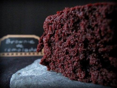 siyah fasulye glutensiz brownie