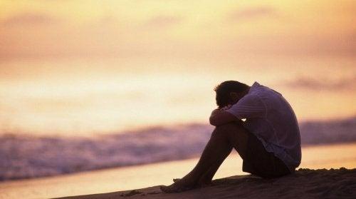 depresyonda bir adam