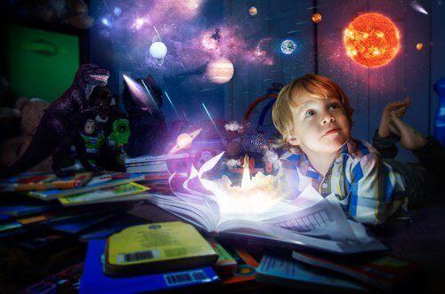 bir çocuğun hayal dünyası