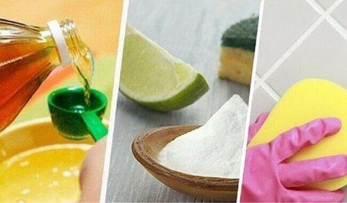 ev yapımı temizlik ürünleri