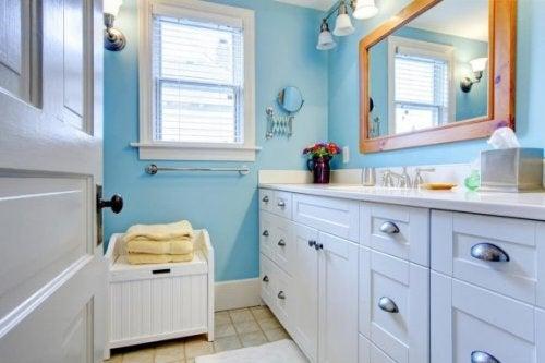 mavi banyo