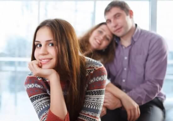 mutlu çekirdek aile ergen