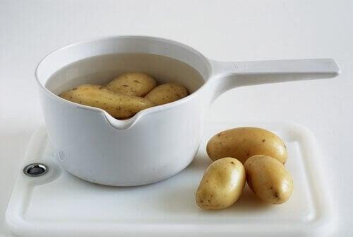 patatesli su