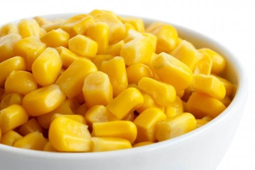 bir kase tatlı mısır