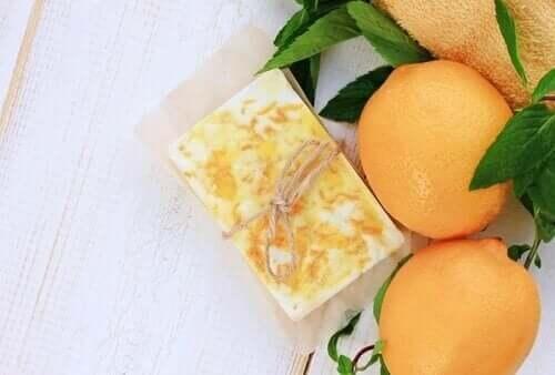 portakallı gliserinli sabun