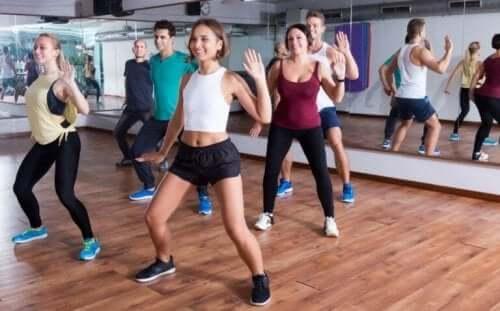 zumba dans sınıf
