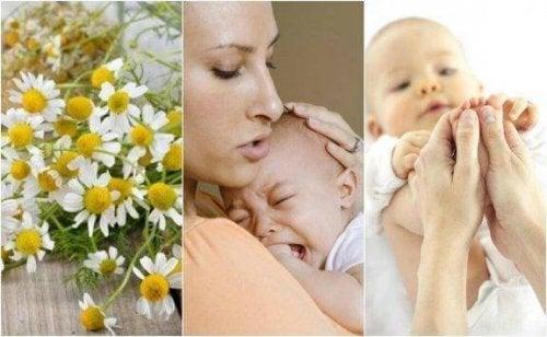 Bebeklerdeki Karın Ağrısı İçin Beş Doğal Tedavi