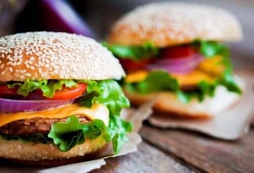 sağlıklı hamburger