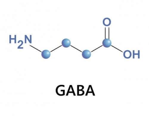 GABA molekül