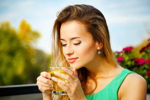 disfoni ve bitki çayı